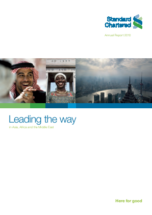 Standard Chartered annual report 2010