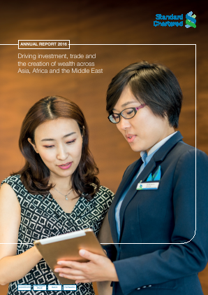 Standard Chartered annual report 2016