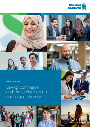 Standard Chartered annual report 2017