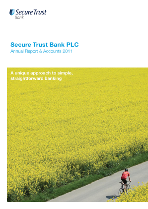 Secure Trust Bank Plc annual report 2011