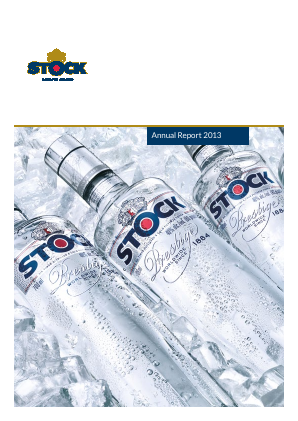 Stock Spirits Group Plc annual report 2013
