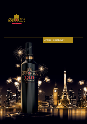 Stock Spirits Group Plc annual report 2014