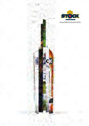 Stock Spirits Group Plc annual report 2015