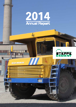 Steppe Cement annual report 2014