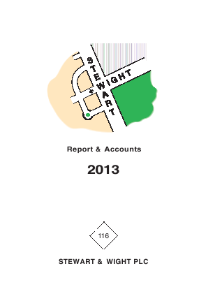 Stewart & Wight annual report 2013
