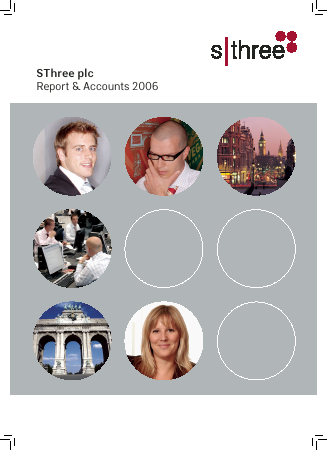 Sthree Plc annual report 2006