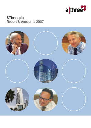 Sthree Plc annual report 2007