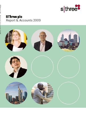 Sthree Plc annual report 2009