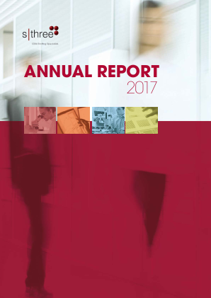 Sthree Plc annual report 2017