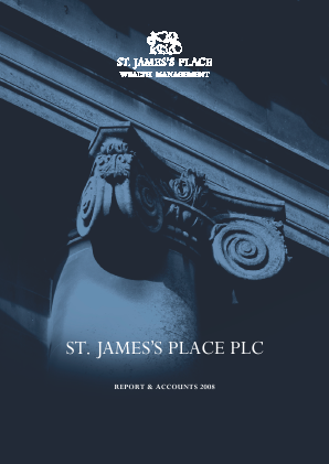 St James Place annual report 2008