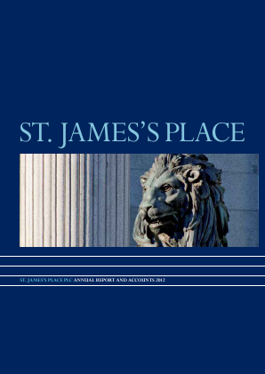 St James Place annual report 2012