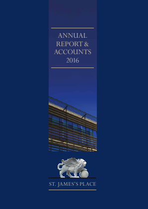 St James Place annual report 2016