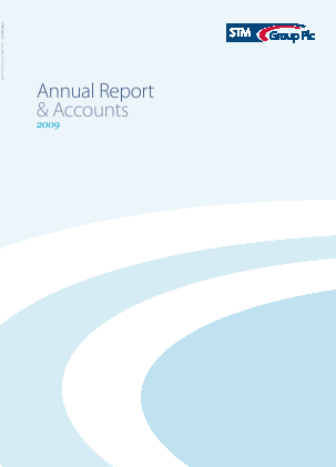 Stm Group Plc annual report 2009
