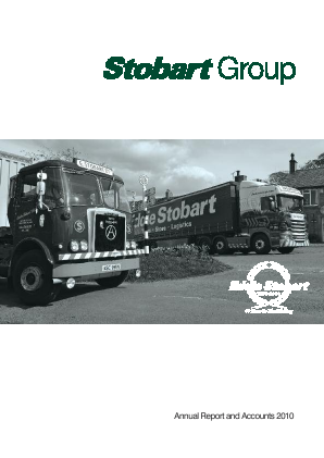 Stobart Group annual report 2010