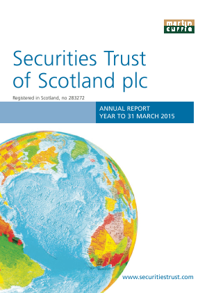 Securities Trust Of Scotland annual report 2015