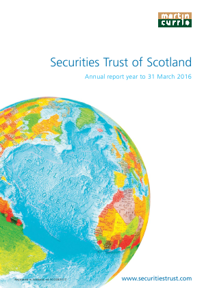 Securities Trust Of Scotland annual report 2016