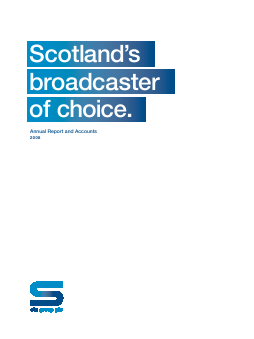 STV Group Plc (formally SMG) annual report 2008
