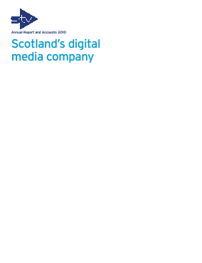 STV Group Plc (formally SMG) annual report 2010