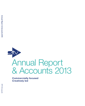STV Group Plc (formally SMG) annual report 2013