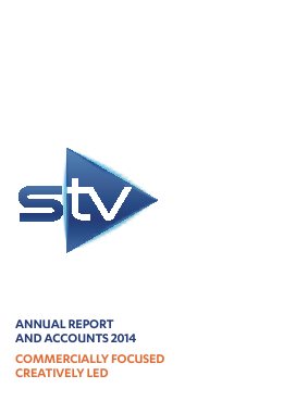 STV Group Plc (formally SMG) annual report 2014
