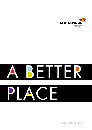 Styles & Wood Group Plc annual report 2015
