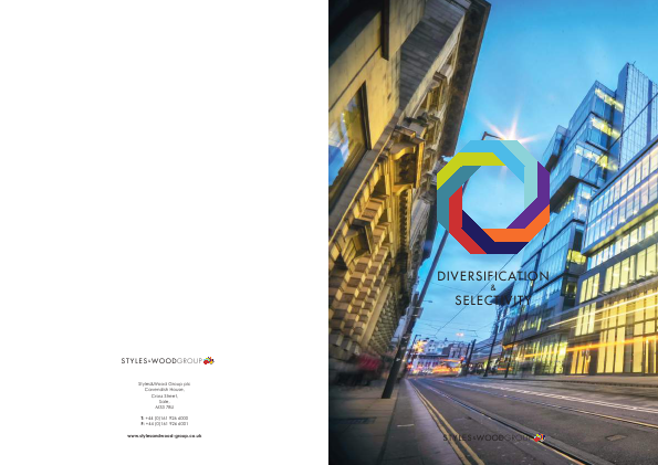 Styles & Wood Group Plc annual report 2016