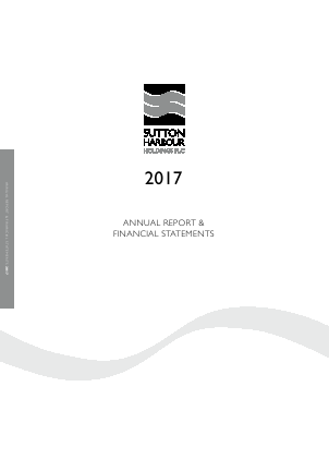 Sutton Harbour Holdings annual report 2017