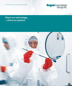 Surgical Innovations Group annual report 2009
