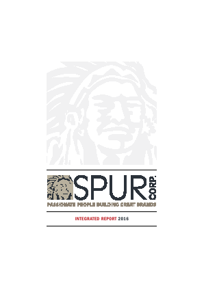 Spur Corporation annual report 2016