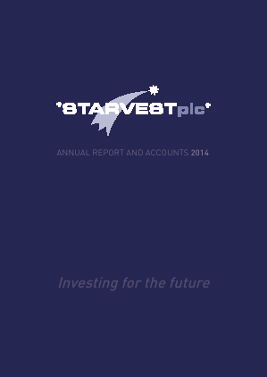 Starvest annual report 2014