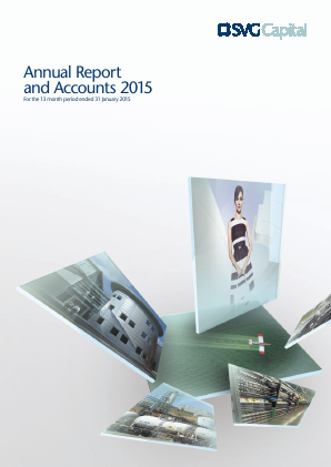 SVG Capital annual report 2015
