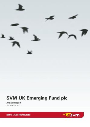 SVM UK Emerging Fund annual report 2011