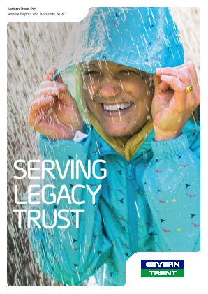 Severn Trent Plc annual report 2016