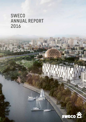 SWECO annual report 2016