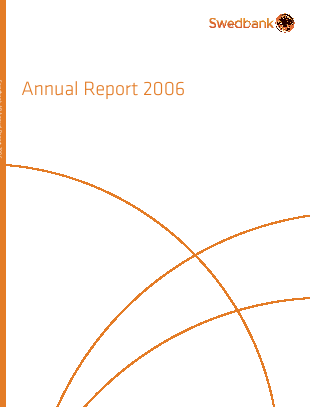 Swedbank annual report 2006