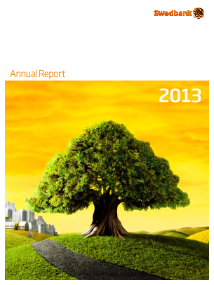 Swedbank annual report 2013