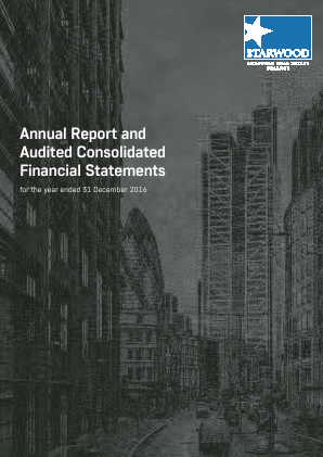 Starwood European Real Estate Finance annual report 2016