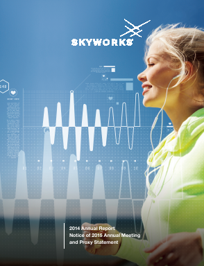 Skyworks Solutions, Inc. annual report 2014