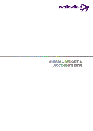 Swallowfield annual report 2014