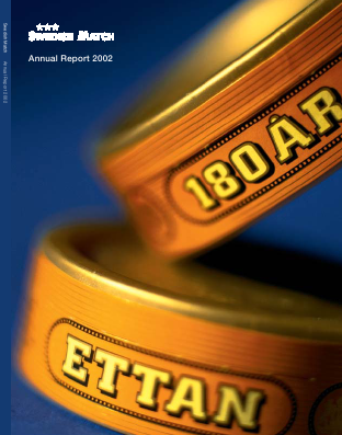 Swedish Match annual report 2002