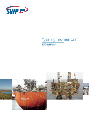 SWP Group Plc annual report 2010