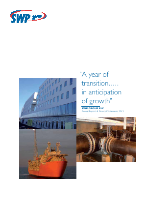SWP Group Plc annual report 2013