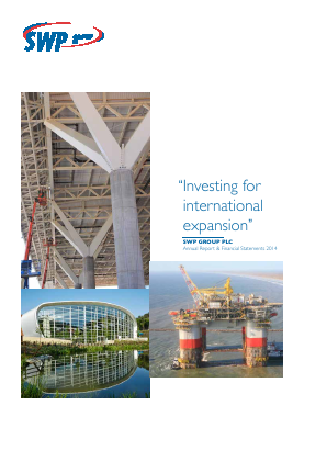 SWP Group Plc annual report 2014