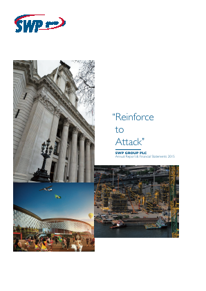 SWP Group Plc annual report 2015