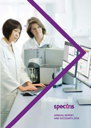 Spectris annual report 2018