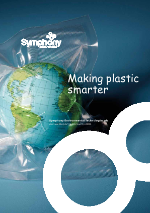 Symphony Environmental Technologies annual report 2014