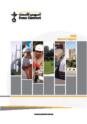Suez Cement Co annual report 2009