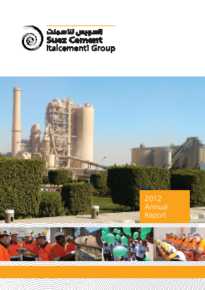 Suez Cement Co annual report 2012