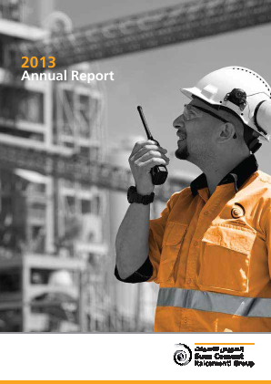Suez Cement Co annual report 2013
