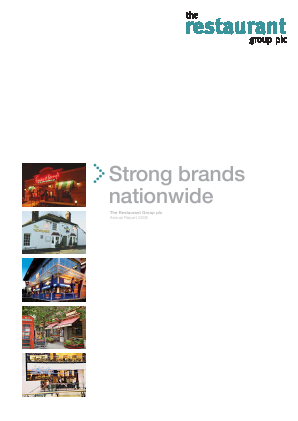Restaurant Group Plc annual report 2006